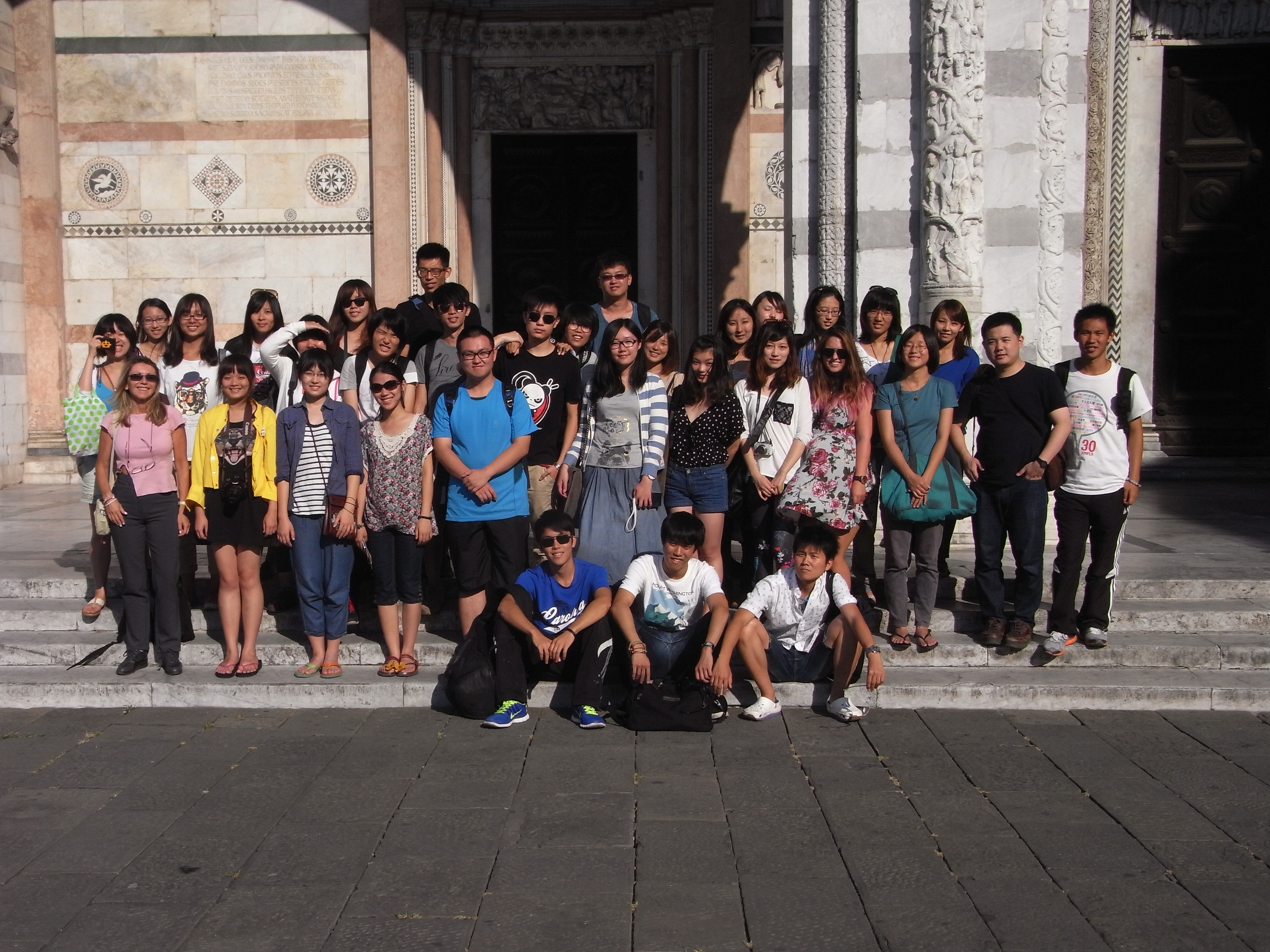 2013 Edition: Students and Teachers visiting Lucca