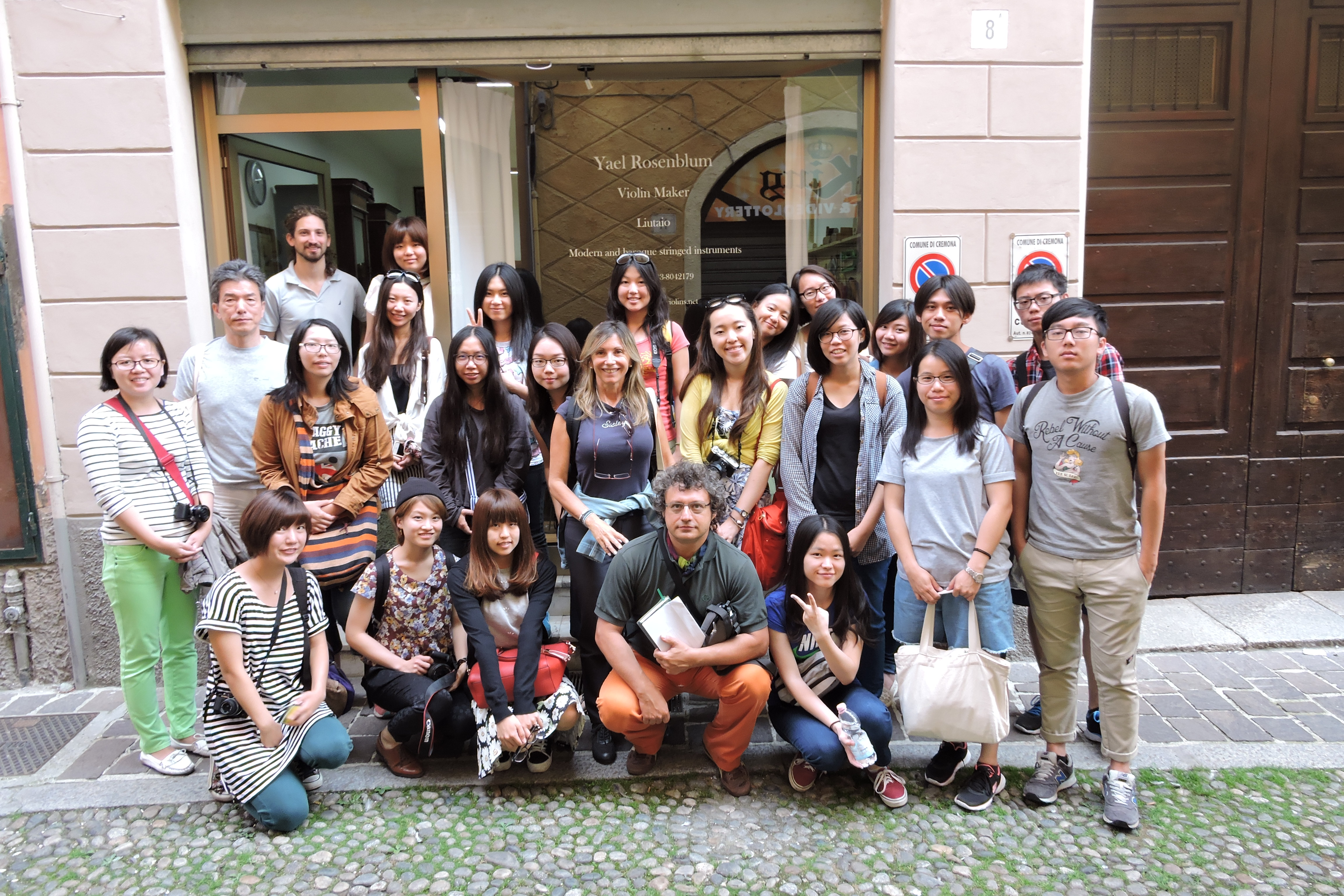 Visit at a Luthery in Cremona, Edition 2014